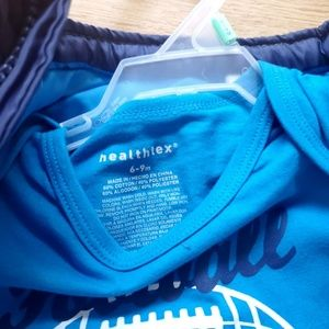 healthtex Matching Sets - Healthtex 3 Piece Football Winter Outfit Set NWT